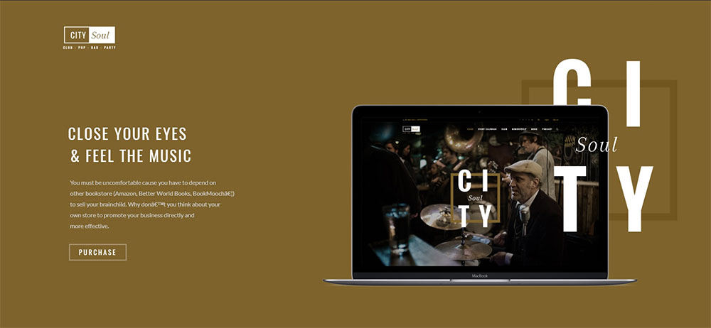 citysoul best nightclub wordpress theme