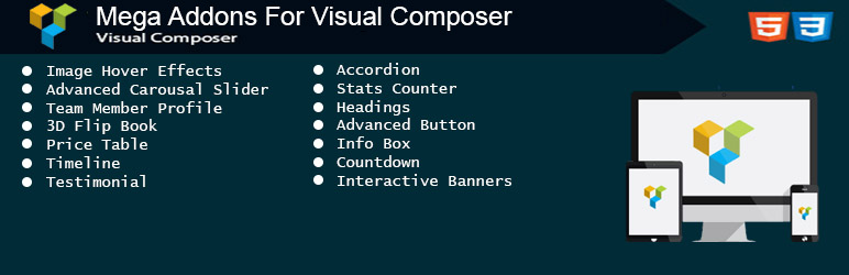 12 Best Visual Composer Addons Pack 2017 - 2018